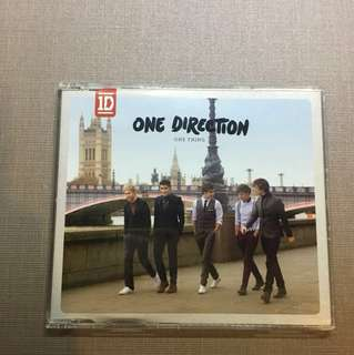 One direction one thing CD
