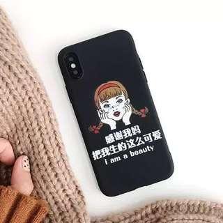 Iphone X i am a beauty