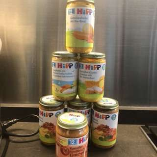 Organic (Bio) Hipp Jar Food (12mo)
