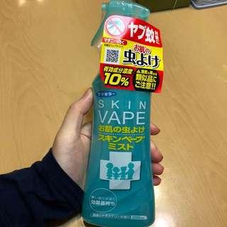 日本著名兒童蚊怕水