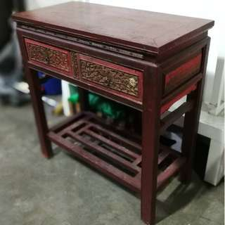 (RESERVED) ANTIQUE Shanxi Console Table