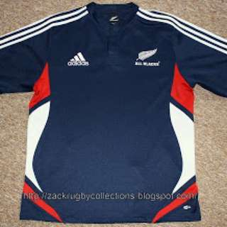 9525631529b New Zealand All Blacks SS Pro 2008/2009 Adidas Training Rugby Jersey