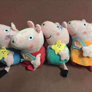 Peppa pig plush stuff Toy
