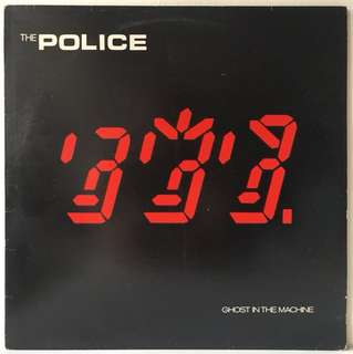 The Police ‎– Ghost In The Machine (1981 Europe Original - Vinyl is Excellent)