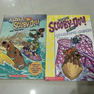 Scooby Doo chapter books
