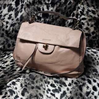 Shopaholic lady sling handbag preloved