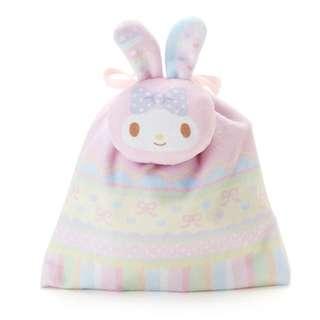 日本代購 sanrio 專門店 2018年 2月 my melody 耳朵吉祥抽繩糖果袋套裝