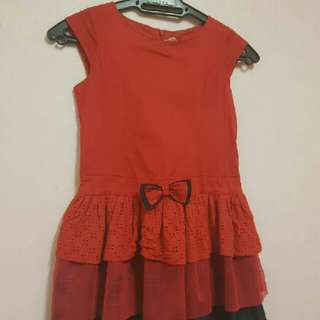 Branded Girl Dress ( 6 ~ 7 Years Old )