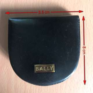 Bally small coin holder genuine leather