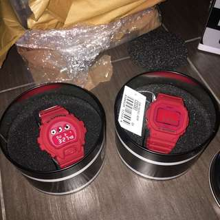 Gshock 35th ( red out)