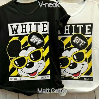 Micky off white top