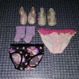 """""""Bundle"""" 2pcs.Panty, 1pc.Medyas, 2pcs. Shoes"""