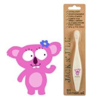 (In Stock)Koala, Jack N' Jill Bio Toothbrush 澳洲有機玉米澱粉製造牙刷 ( 無尾熊款)