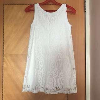New Zara Kids Lace Dress