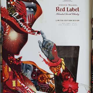 Johnny walker red label