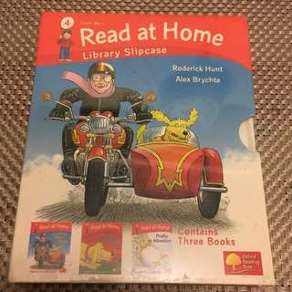 Brand new oxford read at home level 4a english book