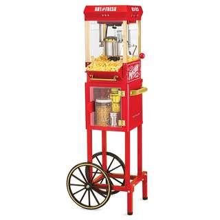 Floor Model Stand Up Pop Corn Cart