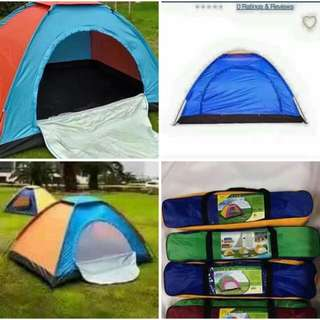 TENT 4 persons 580 6 persons 760