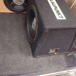 "JBL 10"" with original blaupunkt box"