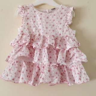 Tu UK Baby Girl Pink Dress