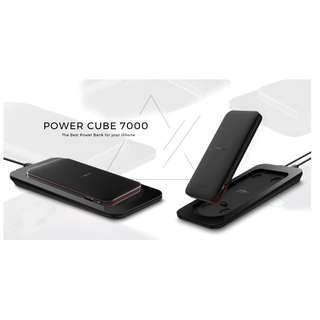 Mipow Power Cube 7000 Power Bank Build in Lightning SPL08W 行動充電器  (移動電源,充電寶,MFI,蘋果認證,Lightning)