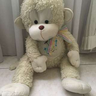 White Monkey stuffed toy