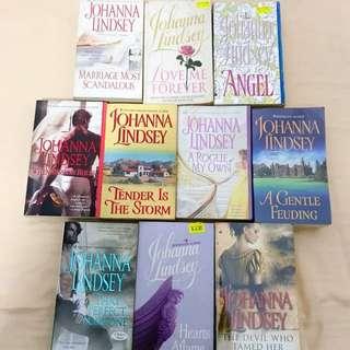 10 JOHANNA LINDSEY Books