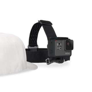 Brand New Original Gopro Head Strap + QuickClip