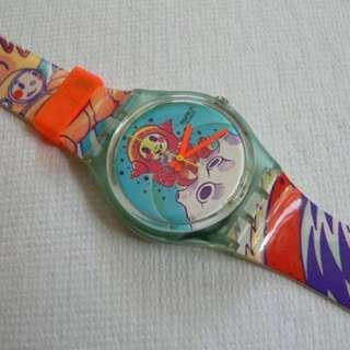 Swatch watch 1992年 絕版錶 特別版 已停產(MADE IN SWISS)Not Rolex / Seiko / Omega 情人節禮物