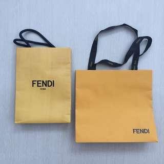 Take all fendi paperbag