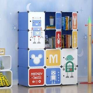 12 Storage cabinets for children