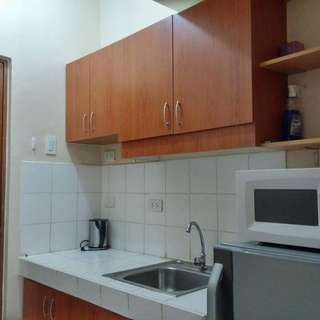 studio unit for rent fully furnished