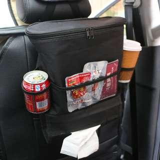 Organizer Barang Gantungan Kursi Mobil dengan Ice Bag. Warna : Hitam. Berat : 500gr.