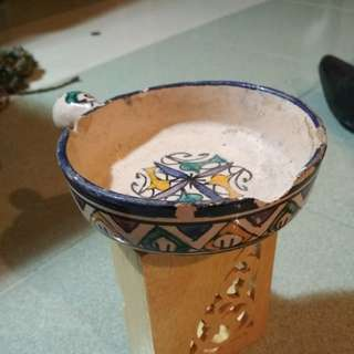 One piece mini pot Moroccan