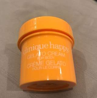 Clinique happy gelato cream
