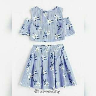 Crop Top & Skirt Coordinates
