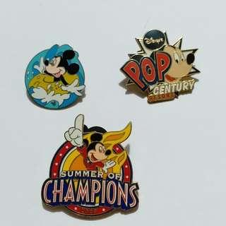 香港迪士尼徽章