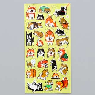 Playful Corgis Scrapbook / Planner Stickers #82