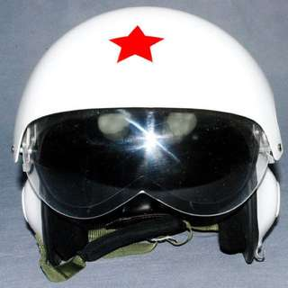 Helmet Russian MIG Pilot