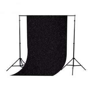 1.5 x 3 m velvet background cloth/Backdrop