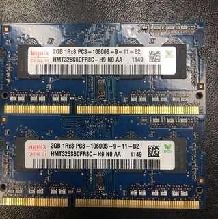 Hynix 2gb PC3-10600S