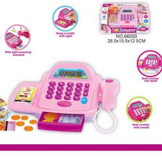Cash Register with Real Working Calculator