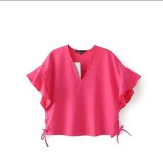 Zara inspired Hot Pink Top