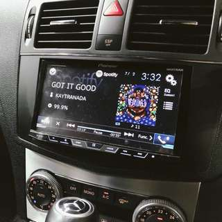 Pioneer Head Unit Car Audio system AVH-X5850BT