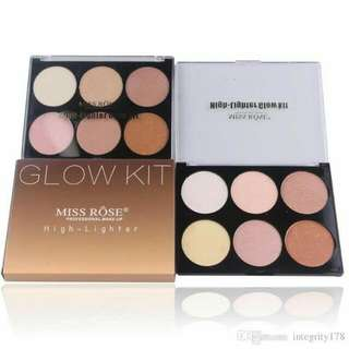 Miss Rose Glow Kit Highlighter Instock