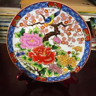 Decorative Plate-Peony