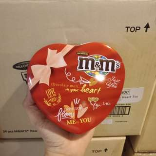 M&m's Heart shape can