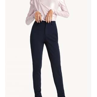 Zip Ankle High Waist Skinny Pants