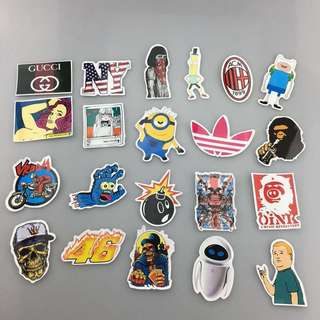 Stickers Sticker Luggage Laptop Patch Paste