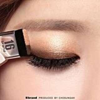 16Brand Eyeshadow Magazine Makeup